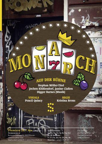 Monarch-plakat by giraffentoast web